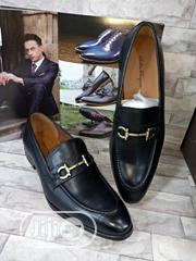 Check Out This Black Ferragamo Design Made for You. | Shoes for sale in Lagos State, Lagos Island