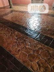 Concrete Stamped Floor,Increte | Landscaping & Gardening Services for sale in Lagos State, Lekki Phase 1