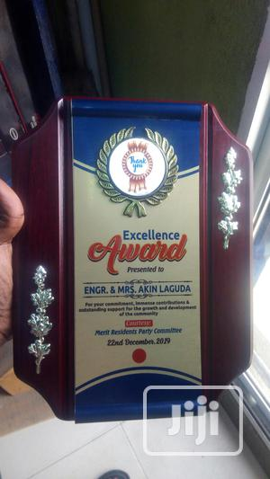 Wooden Plaque Award | Arts & Crafts for sale in Lagos State