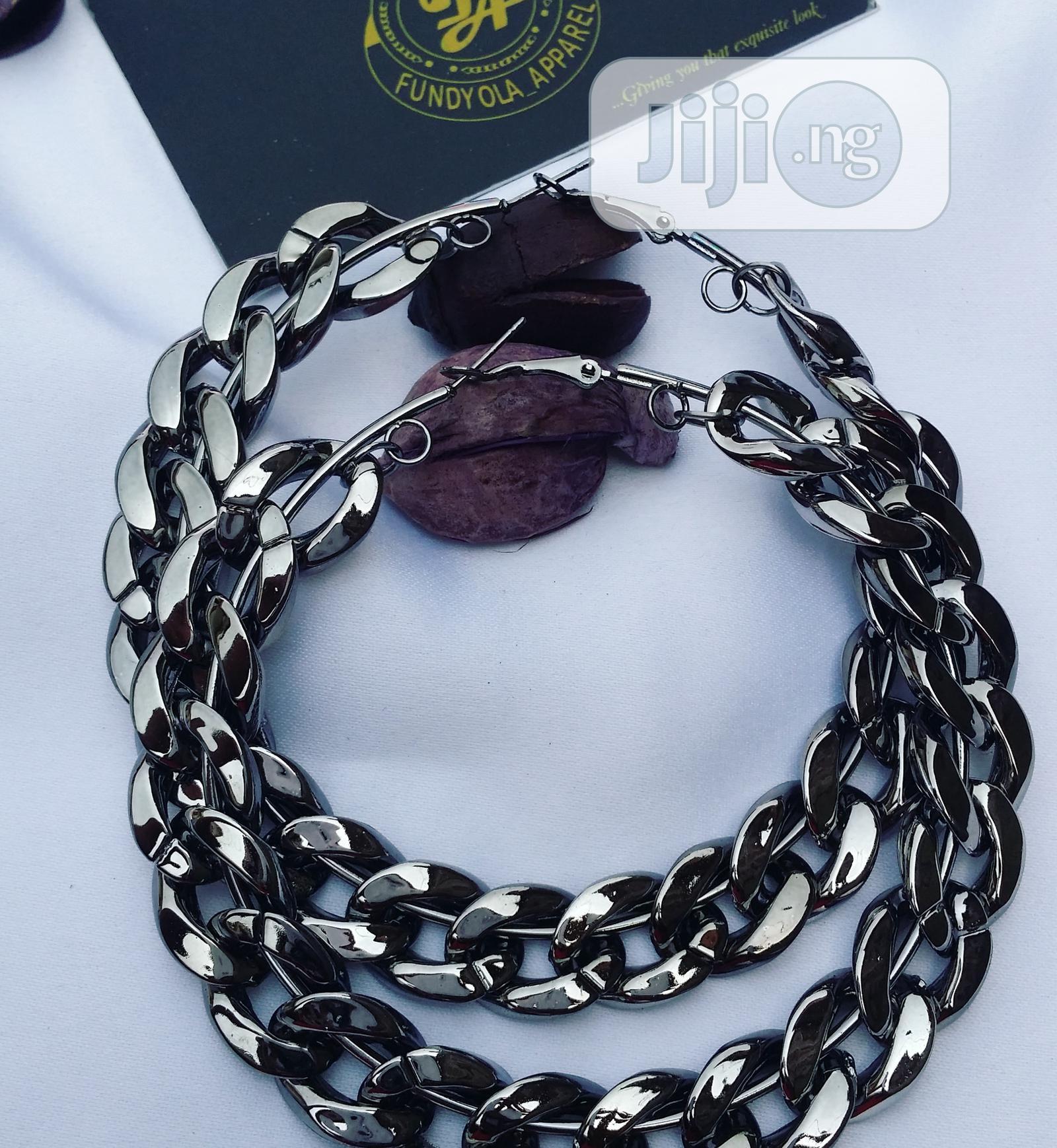 Cuban Link Loop Earring | Jewelry for sale in Ajah, Lagos State, Nigeria