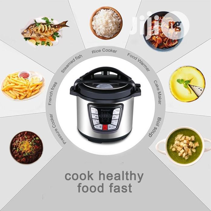 Kenwood 6L Electric Pressure Cooker Timer Rice Cooker | Kitchen Appliances for sale in Ojo, Lagos State, Nigeria