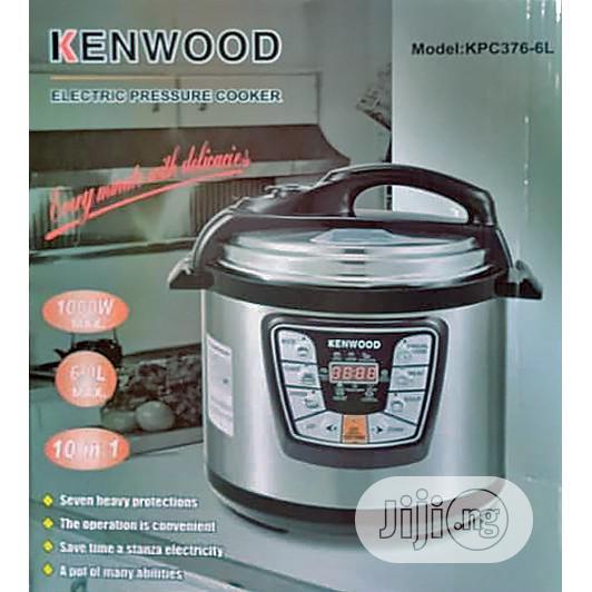 Kenwood 6L Electric Pressure Cooker Timer Rice Cooker