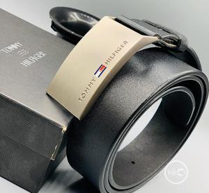 Tommy Hilfiger Leather Belt For Men's | Clothing Accessories for sale in Lagos State, Lagos Island (Eko)