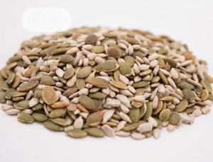 Mixed Seeds Raw Sesame Seed Pumpkin Seed Sunflower Seed Chia,Flax   Feeds, Supplements & Seeds for sale in Plateau State, Jos