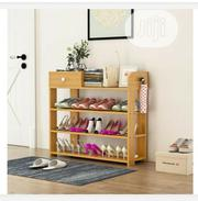Multi Layer Wooden Shoe Rack | Furniture for sale in Kano State, Gezawa