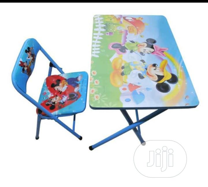 Children Table And Chair For Learning