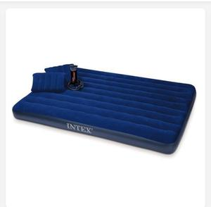 Intex Queen Size Classic Airbed With Pump and Pillows | Furniture for sale in Edo State, Benin City