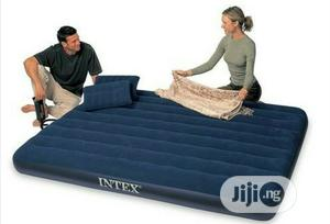 Intex Oueen Size Classic Airbed With Pump and Pillows | Furniture for sale in Imo State, Owerri