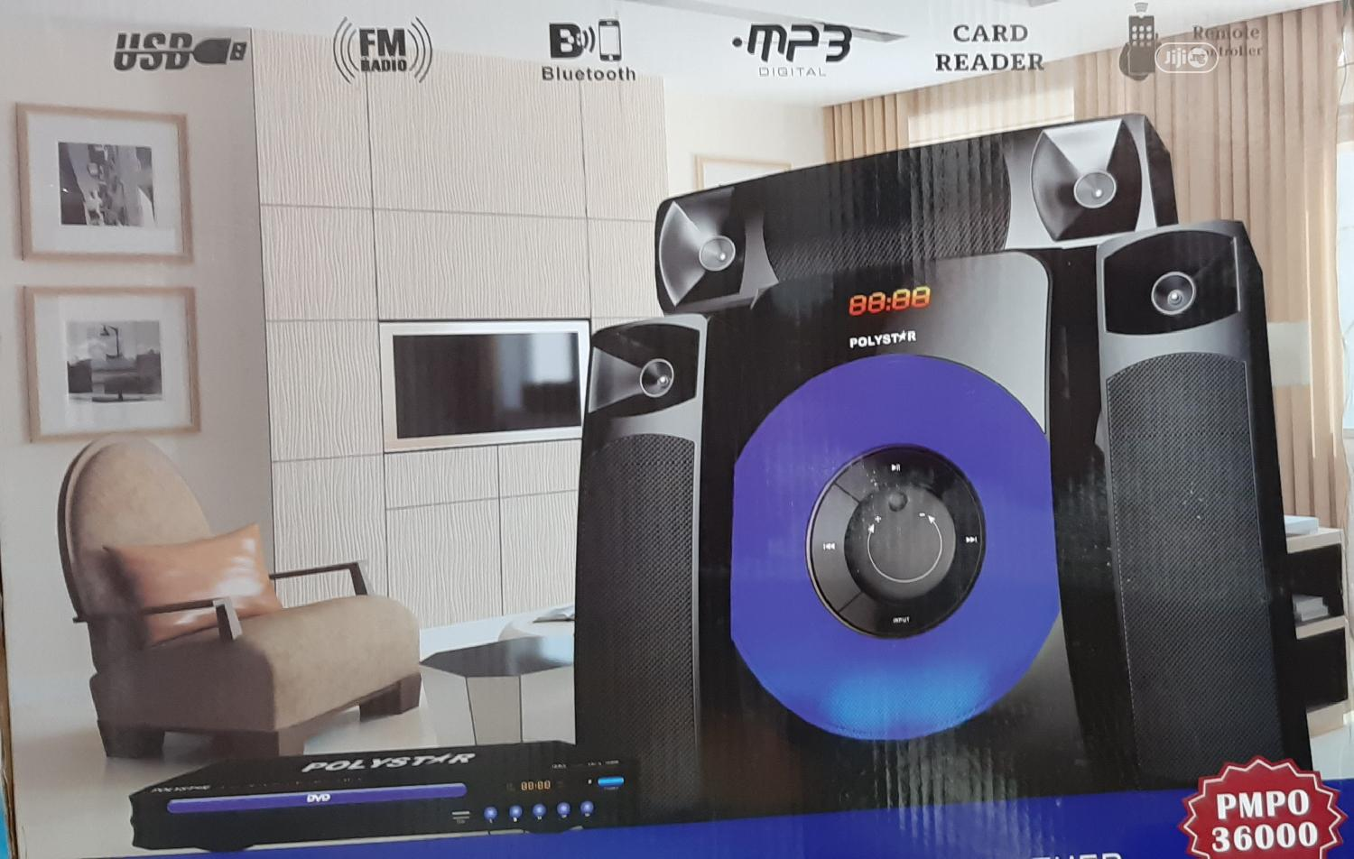 Polystar Home Theater System Pv_861.3.1