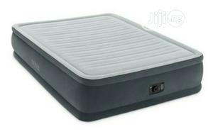 Intex Queen Size Airbed 8inches Inbuilt Electric Pump | Furniture for sale in Lagos State, Ajah