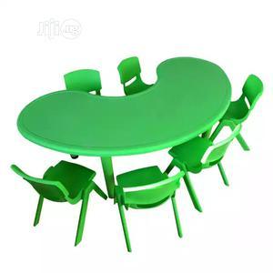 Half Moon Table | Children's Furniture for sale in Lagos State, Oshodi