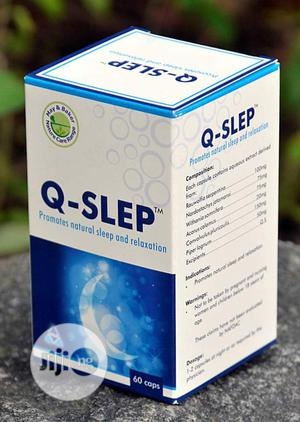 Q-SLEP Quality Sleep - 60 Capsules | Vitamins & Supplements for sale in Oyo State, Ibadan