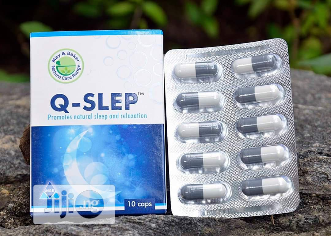 Q-SLEP Quality Sleep - 60 Capsules | Vitamins & Supplements for sale in Ibadan, Oyo State, Nigeria