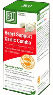Heart Support Garlic Combo - Supports Cardiovascular Health | Vitamins & Supplements for sale in Lagos State, Ikeja