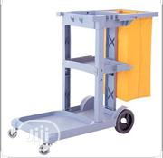 Cleaning Janitor Cart With Vinyi Bag Grey   Restaurant & Catering Equipment for sale in Lagos State, Lagos Island