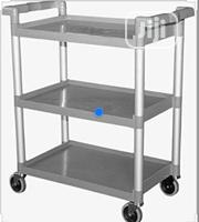 3pcs Hotel Plastic Utility Cart, Food Trolley Cart Services Cart...   Restaurant & Catering Equipment for sale in Lagos State, Lagos Island