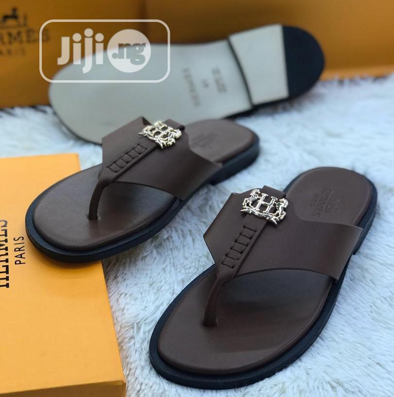 Hermes Leather Sandals | Shoes for sale in Lekki, Lagos State, Nigeria