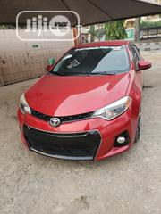 Toyota Corolla 2015 Red | Cars for sale in Lagos State, Surulere