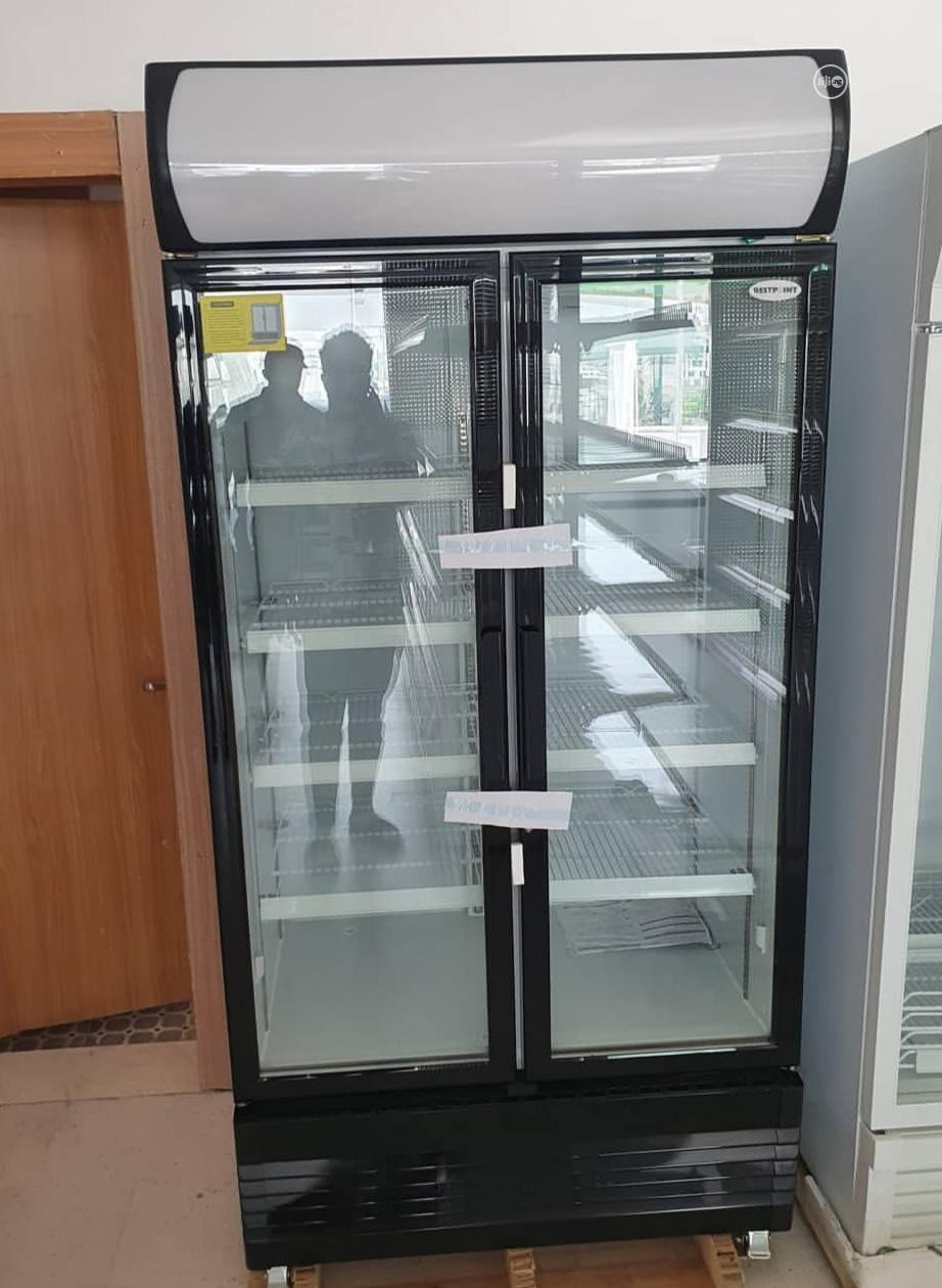 Double Doors Display Chiller