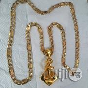 Solid Italy 750 Tested 18krt Gold Levis Wit And Anchor | Jewelry for sale in Lagos State