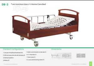 DB-3 Three Function Electric Homecare Bed | Medical Supplies & Equipment for sale in Lagos State, Ikeja