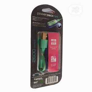 Powerpack Mini 2600mah External Battery Pack-ultra-compact