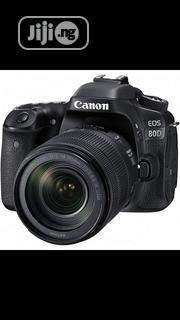 Canon EOS 80D DSLR Camera With 18-135mm Lens+Strap+Charger+Battery | Photo & Video Cameras for sale in Lagos State, Ikeja