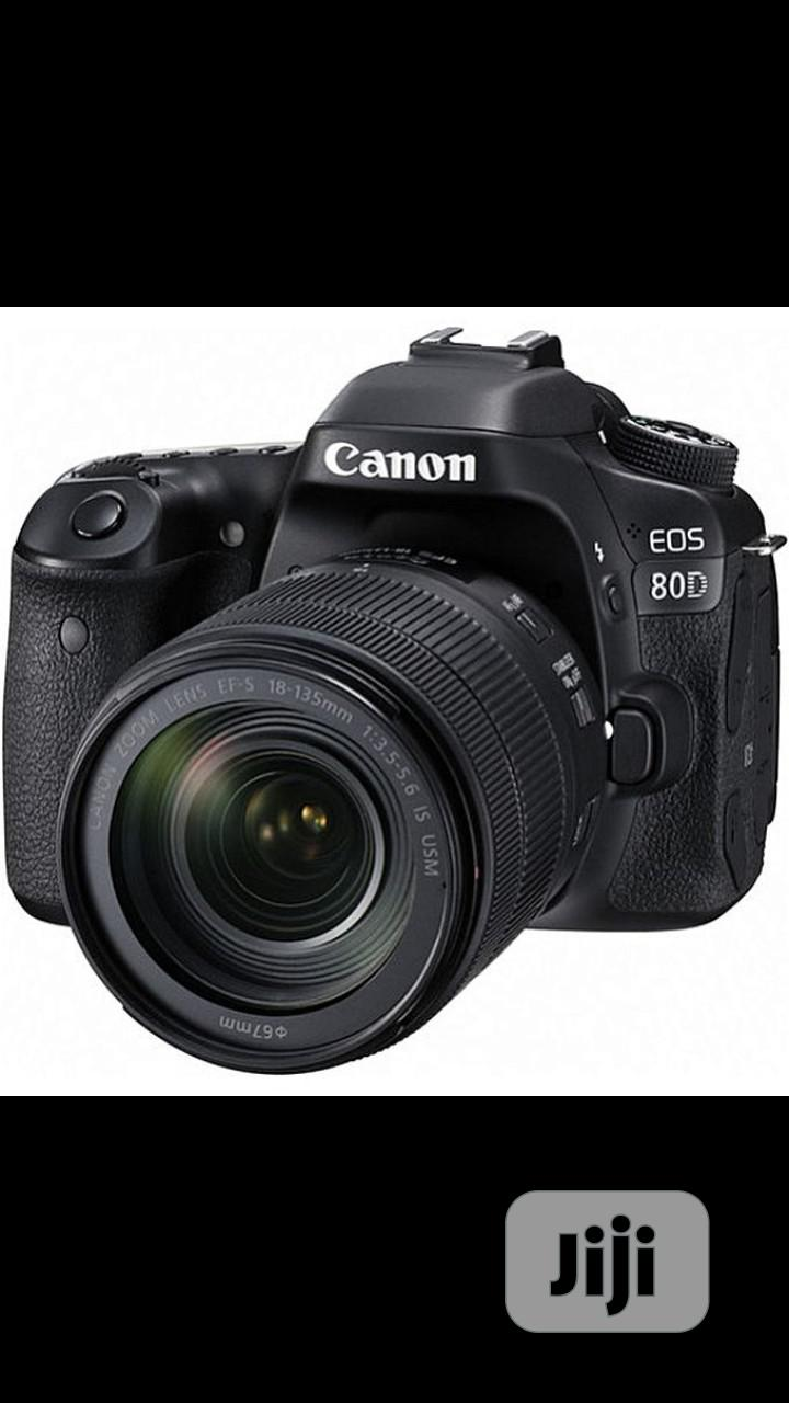 Canon EOS 80D With 18-135mm Lens+Strap+Charger+Battery