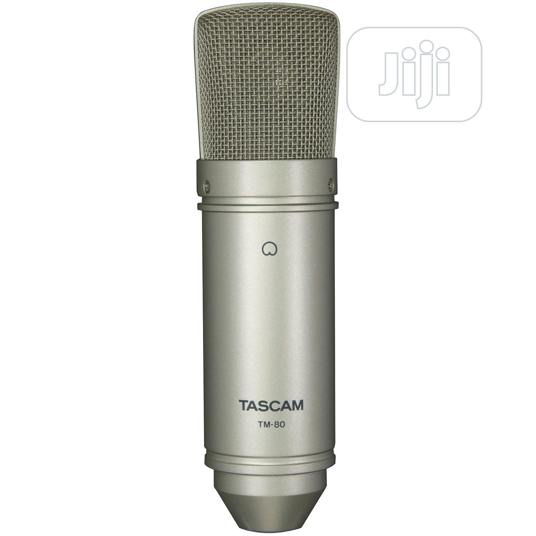 Archive: Tascam TM-80 Large Diaphragm Condenser Microphone | TM80