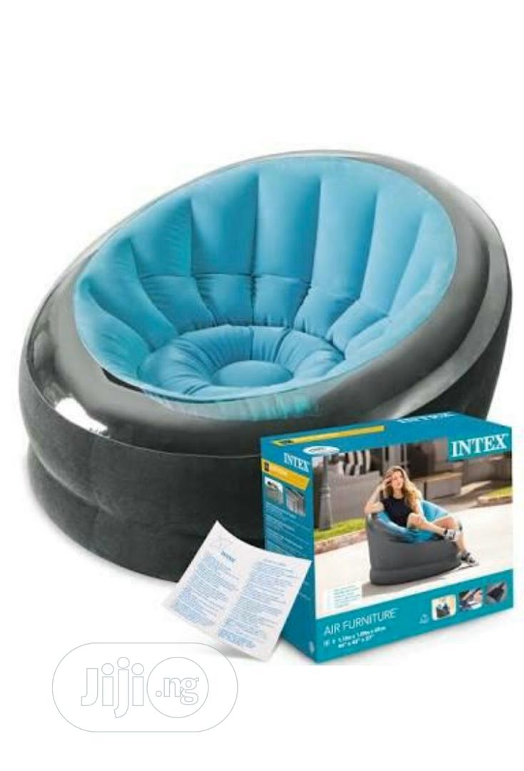 Intex Inflatable Empire Chair With Pump | Furniture for sale in Ifako-Ijaiye, Lagos State, Nigeria