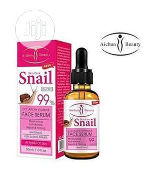 Collagen+Vitamin E Snail Face Whitening Serum- 99% | Skin Care for sale in Lagos State, Lagos Island (Eko)