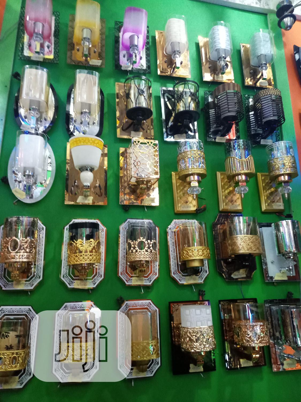 Good Quality Glass Wall Bracket Light Gold