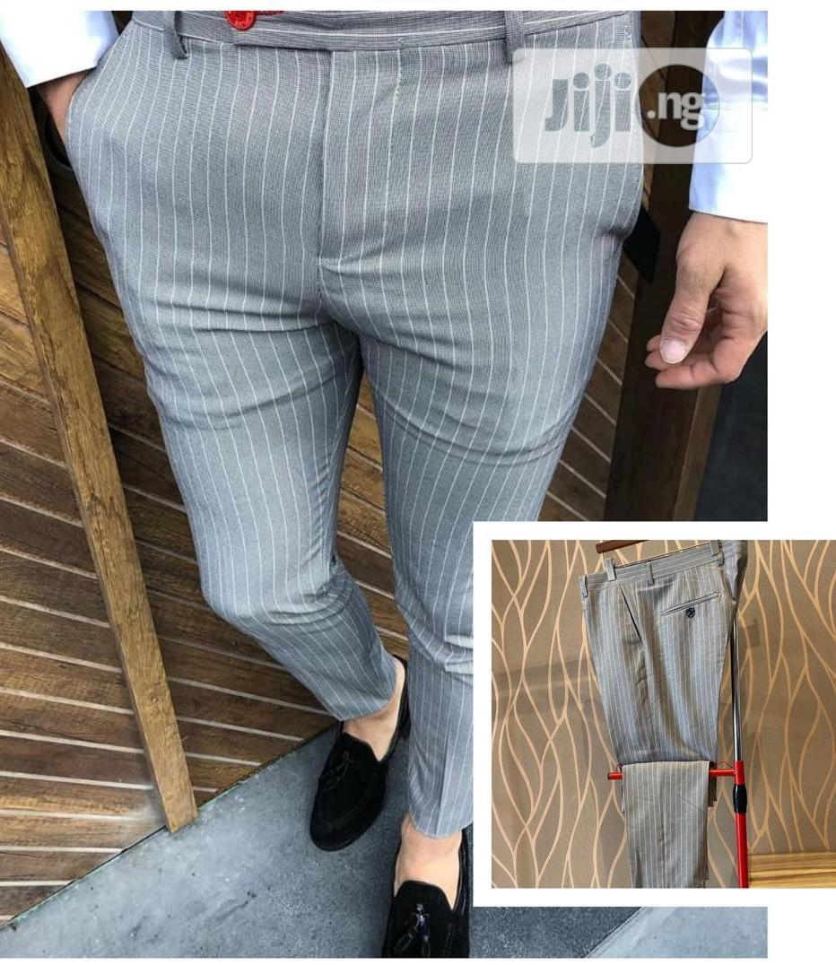 Archive: Slim Fit Designer's Pants Trousers by Djplus