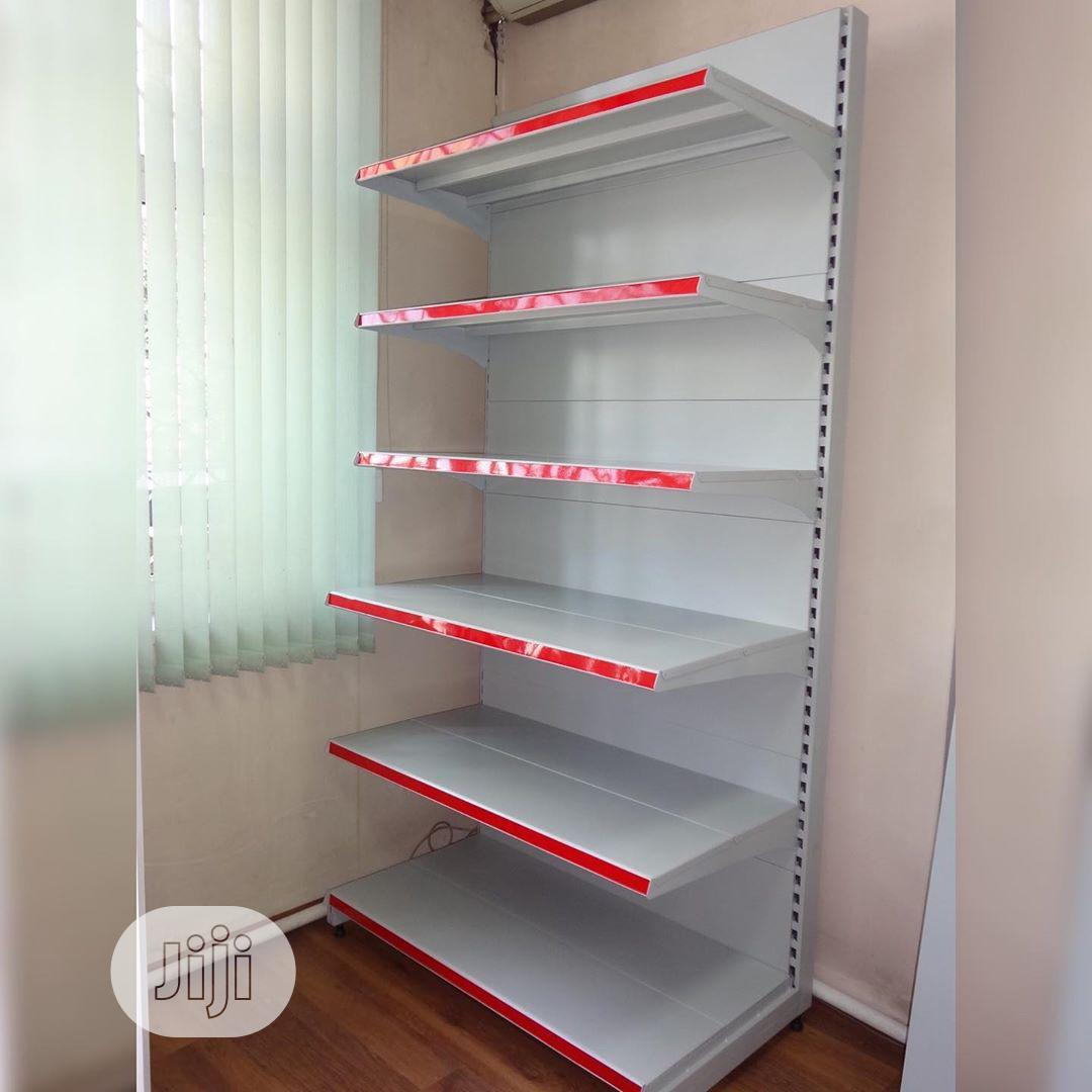 Brand New Single Sided Supermarket Perforated Display Shelving   Store Equipment for sale in Lagos State, Nigeria