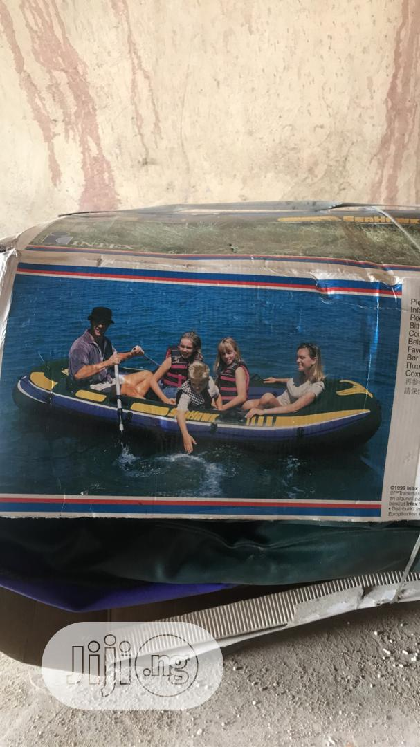 Swimming Boat With Life Jackets For Sale