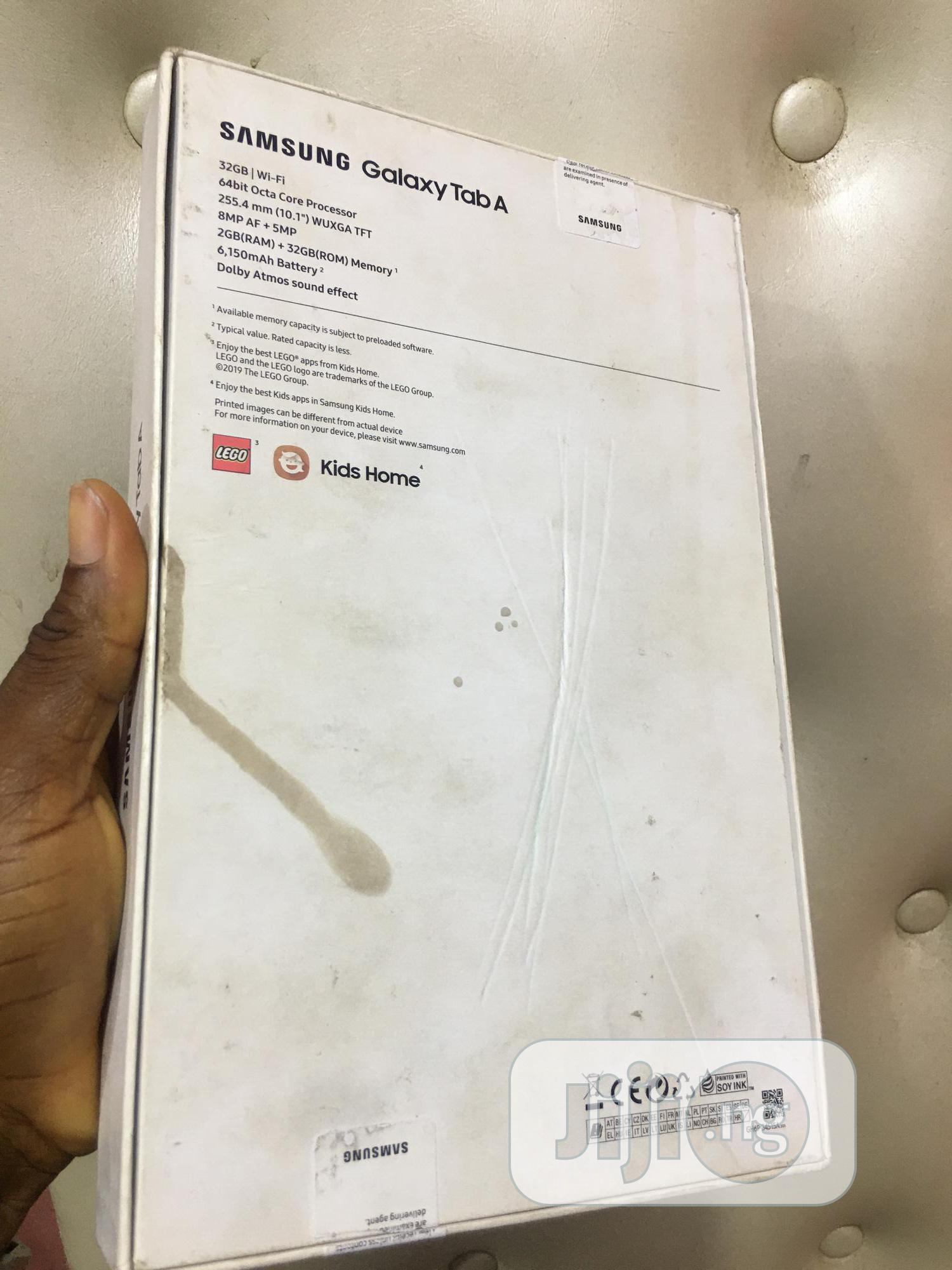 New Samsung Galaxy Tab A 10.1 32 GB Black | Tablets for sale in Ikeja, Lagos State, Nigeria