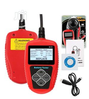 Digital Battery Tester/Analyzer-Ba101-12v-2000cca- 220AH USB | Measuring & Layout Tools for sale in Lagos State, Ikeja
