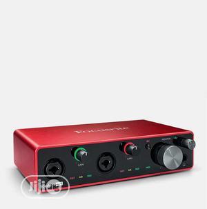 Focusrite Scarlett 4i4 3rd Gen USB Sound Card   Audio Interface   Audio & Music Equipment for sale in Lagos State, Ikeja