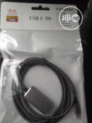Usb C To HDMI Cable 1.8m 4k Ultra Hd | Accessories & Supplies for Electronics for sale in Lagos State, Ikeja
