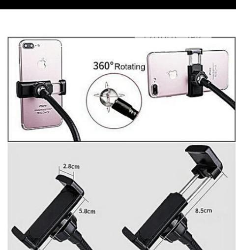 Selfie Stick With Ringlight | Accessories for Mobile Phones & Tablets for sale in Ikeja, Lagos State, Nigeria