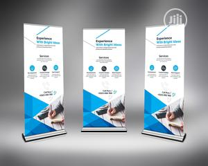 Flat Base Rollup Banner Stand | Printing Equipment for sale in Lagos State, Ikeja