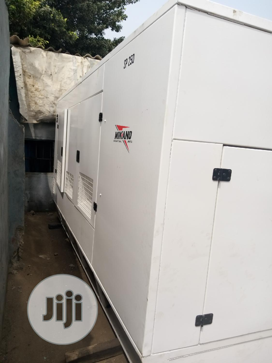 250kva Mikano Clean And Portable No Fault | Electrical Equipment for sale in Ikeja, Lagos State, Nigeria