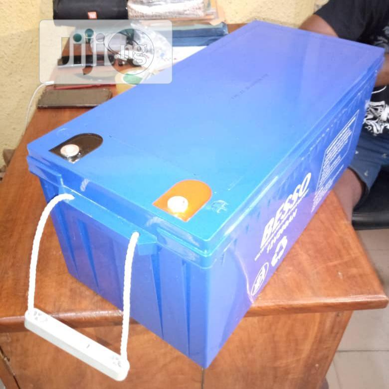 BESSO Solar Batteries 200ah 12v