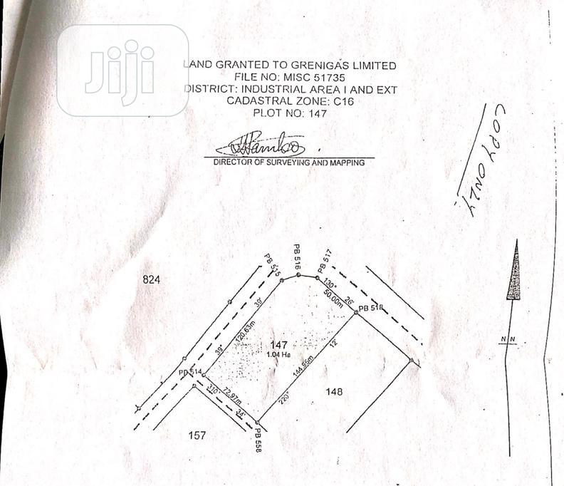 Archive: 1.04hectare Commercial Plot For Sale At Idu Industrial Abuja