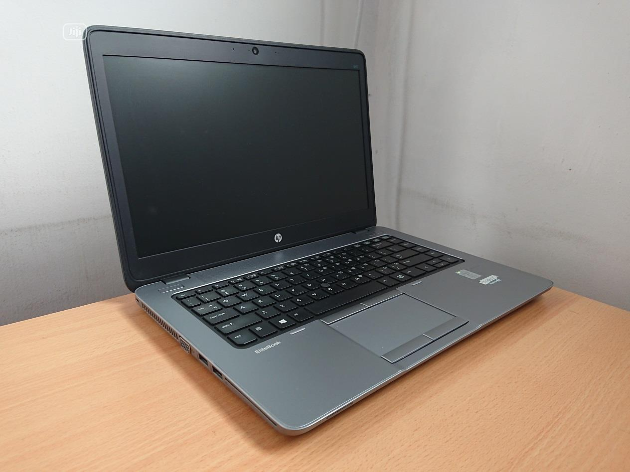 Laptop HP EliteBook 840 G1 8GB Intel Core i5 HDD 500GB | Laptops & Computers for sale in Central Business Dis, Abuja (FCT) State, Nigeria