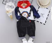 2pcs Dungarees Unisex Wear | Children's Clothing for sale in Lagos State, Ikotun/Igando