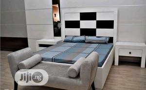 Unique 4.5 By 6ft Bed Frame   Furniture for sale in Lagos State, Ikeja
