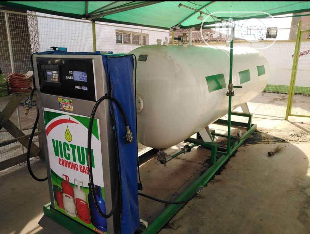 Full Installation Of 2.5tons LPG Tanks With Auto Dispenser | Manufacturing Equipment for sale in Ikeja, Lagos State, Nigeria