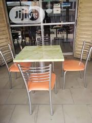 Marble Table and Stainless Steel Chairs | Furniture for sale in Kaduna State, Kaduna