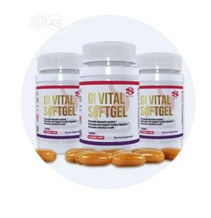 Permanent Cure For Ulcer Is GI Vital Softgel | Vitamins & Supplements for sale in Oyo State, Ogbomosho North